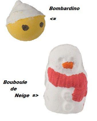 Lush WoW : Bombardino & Bouboule de Neige (bombes)