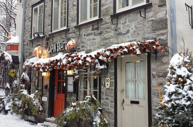 Le Quartier Petit Champlain, à Québec