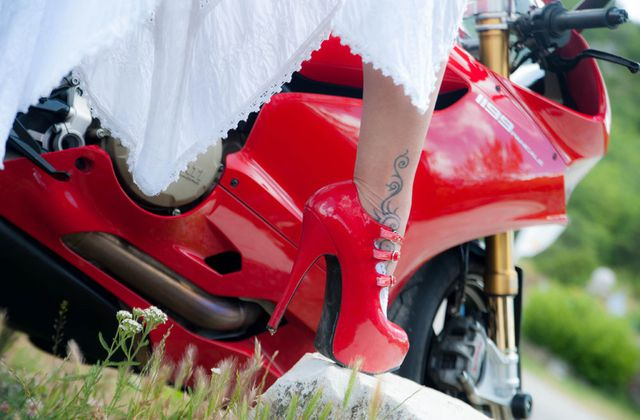 Mes talons rouges Ducati Panigale 1199 R