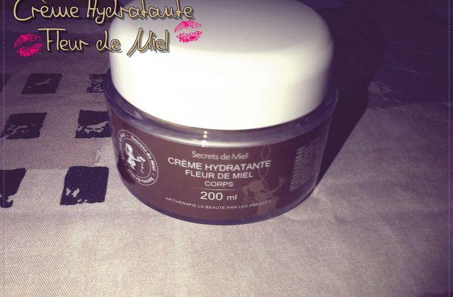 Crème Hydratante Fleur de Miel - Secrets de Miel