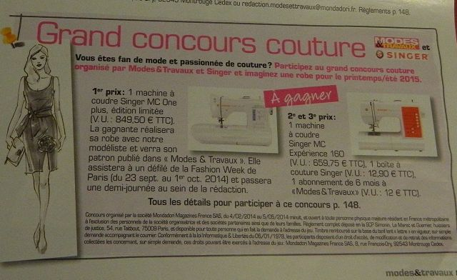 Grand concours couture : à vos crayons !!