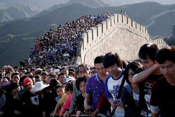 Les congés nationaux en Chine.