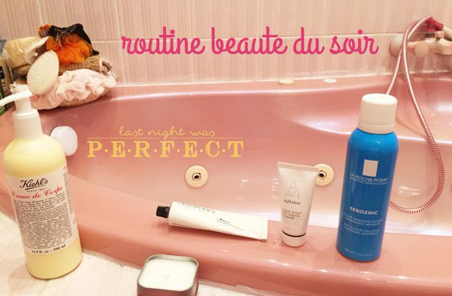 Routine beauté du soir made in Oh My Cream