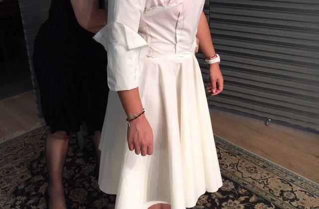 Une robe sur mesure
