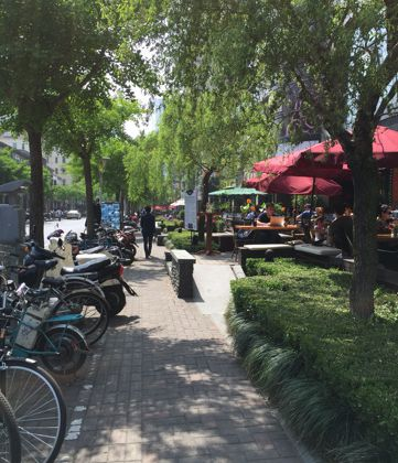 Où manger en terrasse à #Shanghai ?