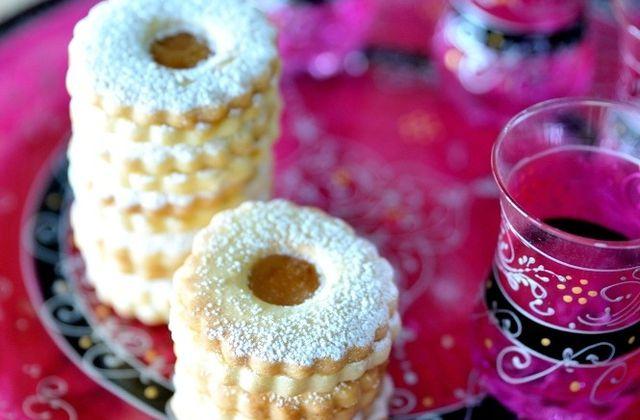 Sablés fourrés au caramel au beurre salé