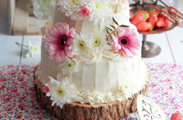 Petit Wedding Cake de printemps
