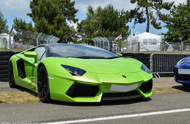 AG77 • Lamborghini Aventador LP700-4 roadster '14