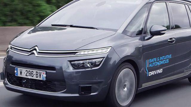 La conduite autonome du groupe PSA en bonne voie