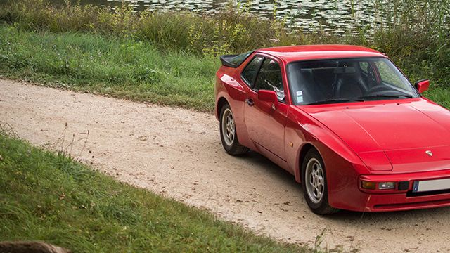 '85 Porsche 944 2.5 163