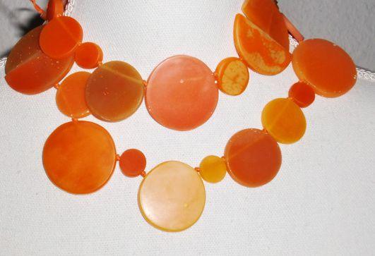 Es wird ... orange Resin-Taler