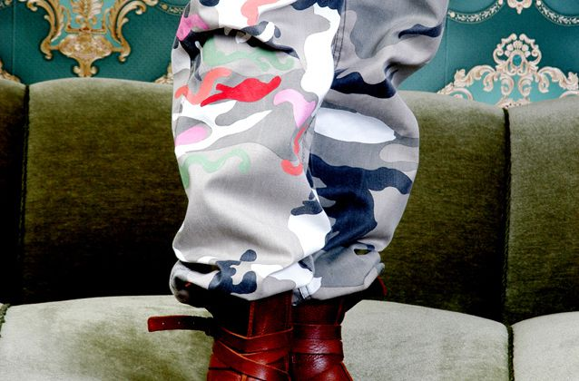 Flecktarn-Fashion