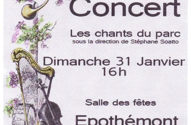 Concert des Chants du Parc
