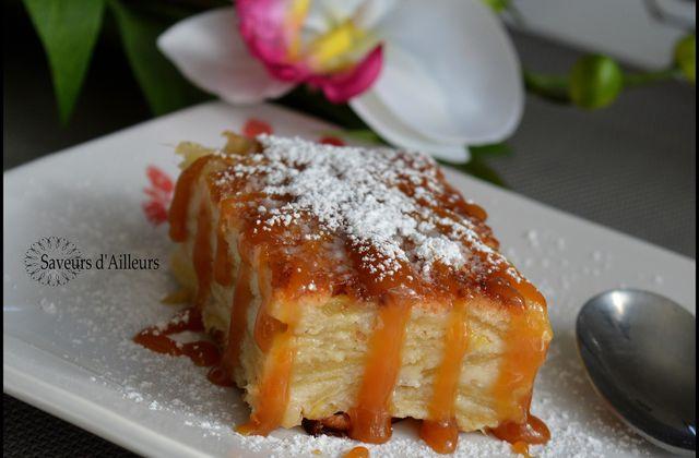 Gâteau aux pommes invisible - Vanille Cannelle