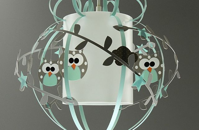 Suspension hibou - Aqua Bon !