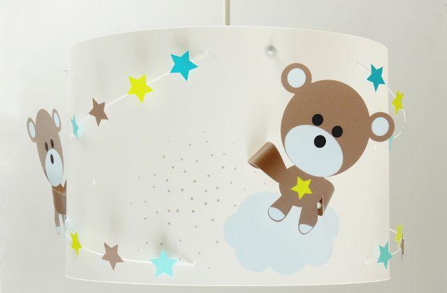 Plafonnier chambre bébé : Ourson