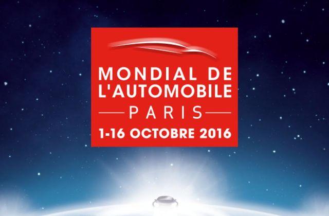 Mondial de l'Automobile, du 1er au 16 octobre 2016 à Paris