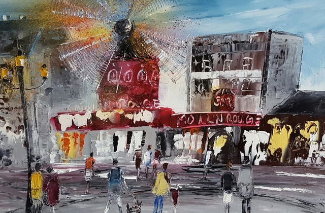 Soir de Spectacle, nouvelle toile du Moulin Rouge