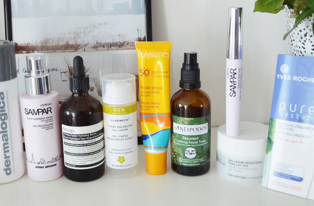 New beauty routine.