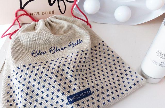 Birchbox : Bleu, Blanc, Belle