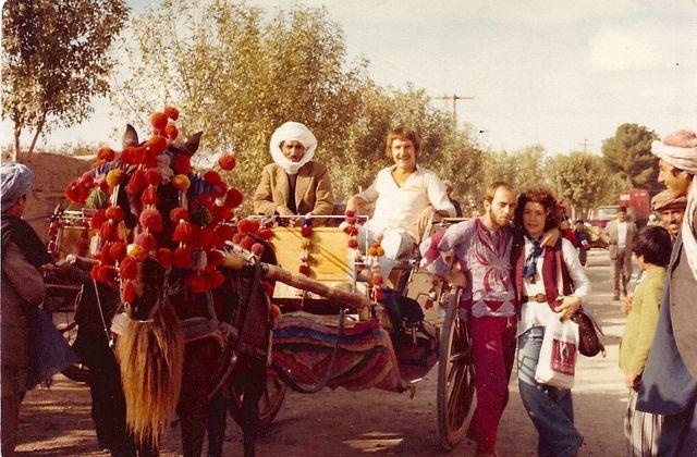 Années hippies et poésie soufie