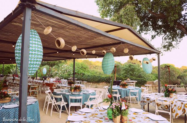 Mariage African Jungle au Domaine Sainte-Colombe | Jewish Wedding