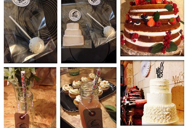 Wedding Cakes, Naked Cake, Cupcakes et autres gourmandises chez Mary Cherry