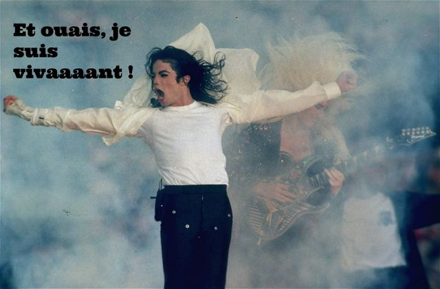 LE REFUS DE LA DISPARITION DE MICHAEL JACKSON.