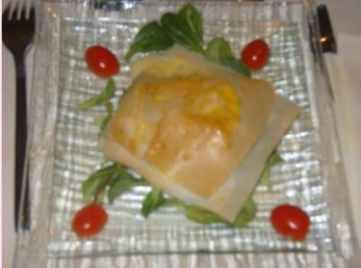 MILLE-FEUILLE AU CAMEMBERT