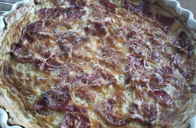 QUICHE POIREAUX BACON (10SP LA PART)