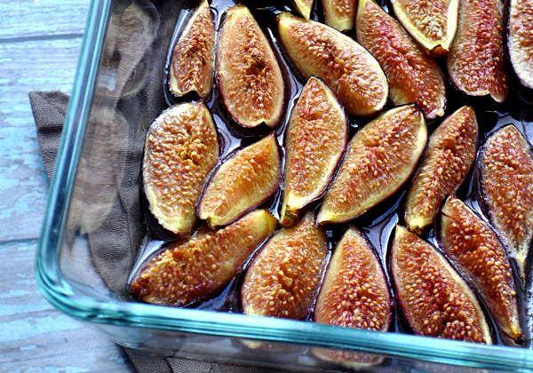Gateaux entremets desserts recettes by hanane - Figues roties au miel ...