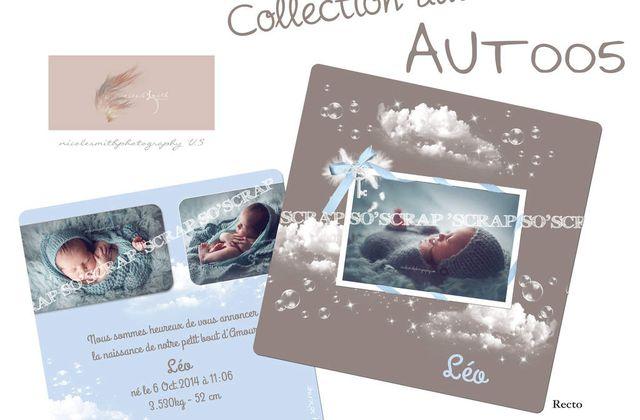 NOUVEAUTÉ au catalogue naissance collection automne chez So'scrap