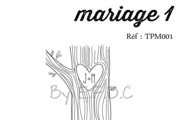 CATALOGUE TAMPON MARIAGE