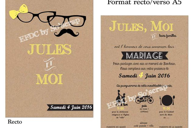 MARIAGE/SAVE THE DATE