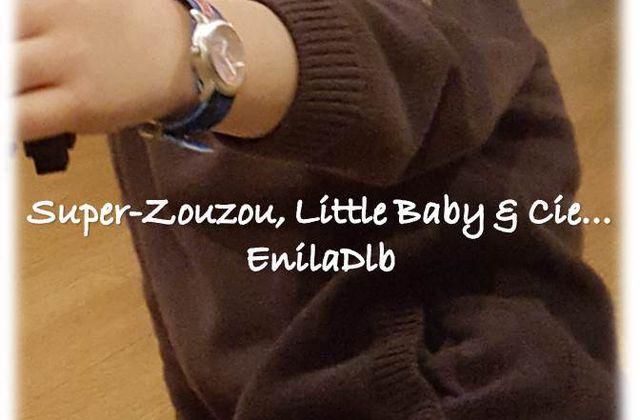 Super-Zouzou et… sa première montre…