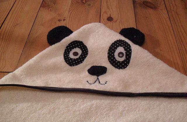 Tuto : La cape de bain panda
