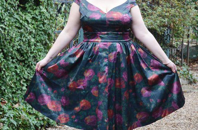 Trashy Diva : Fresco Floral - Eva Marie Dress