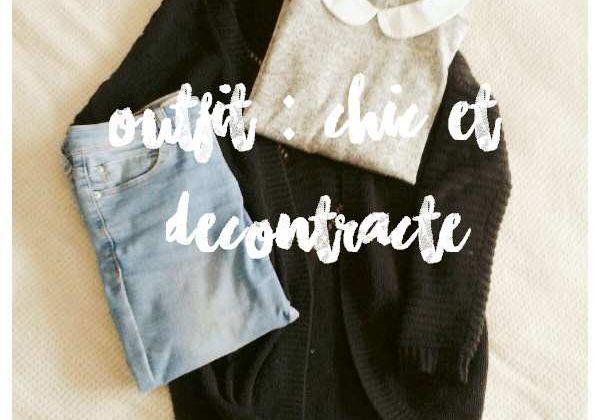 [Outfit] Chic et décontracté