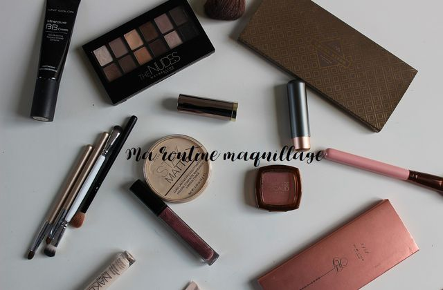 Ma routine maquillage