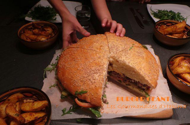 Burger Géant - Bataille Food # 21