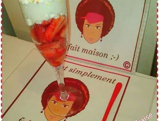 Coupe fraises & chantilly