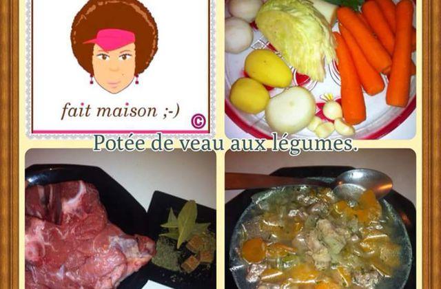 Potée de veau aux légumes