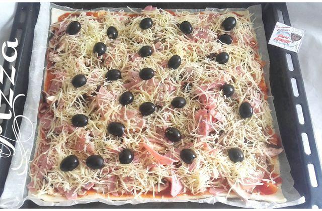 Pizza simplement fait maison