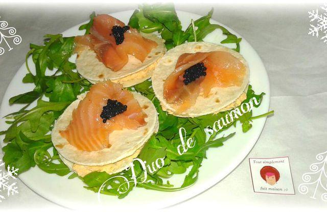 Duo de saumon La Foodista challenge#4