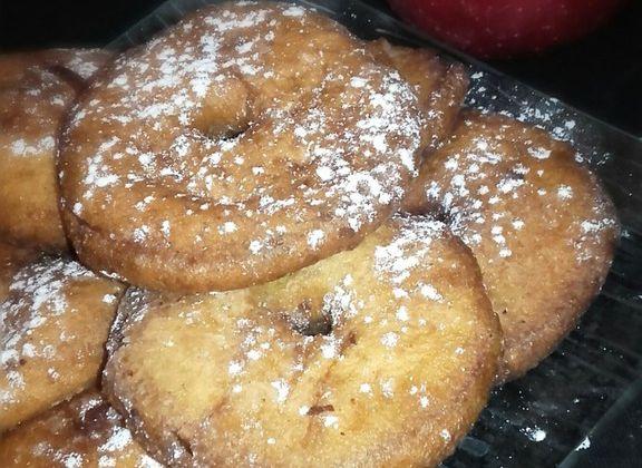 Beignets aux pommes -Recette autour d'un ingrédient #24