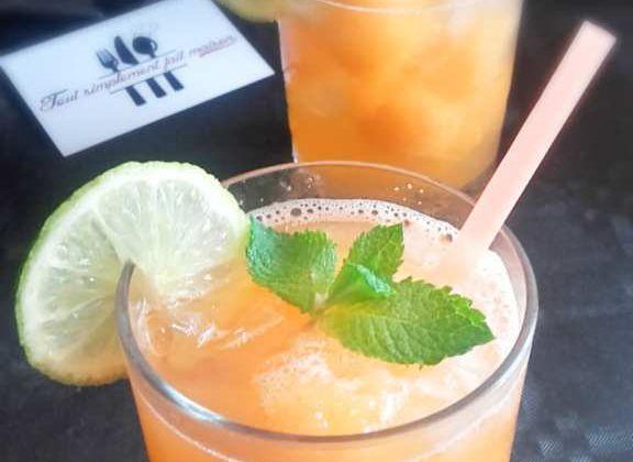 Pétillant d'été melon/citron vert (Bataille Food 45)