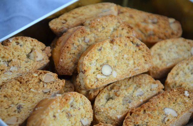 Biscotti, croquets aux amandes