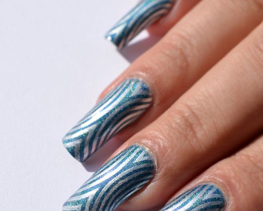 Nail art Illusion (+ gagnante mini GA )