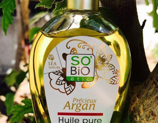 Précieux Argan-Huile pure- Argan biologique - SO'BIO étic- Léa Nature - 100 ml 🍃