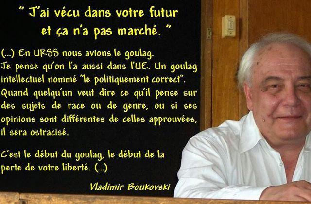 L'Union européenne, c'est l'URSS, une dictature ! - Vladimir Boukovsky
